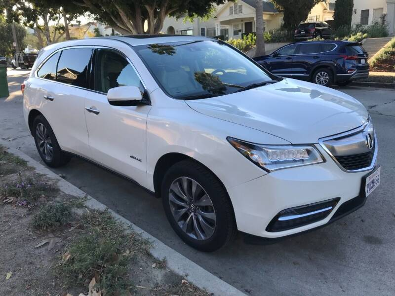 2014 Acura MDX for sale at Autobahn Auto Sales in Los Angeles CA