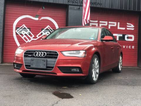 2013 Audi A4 for sale at Apple Auto Sales Inc in Camillus NY