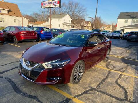 2016 Nissan Maxima for sale at Dream Auto Sales in South Milwaukee WI
