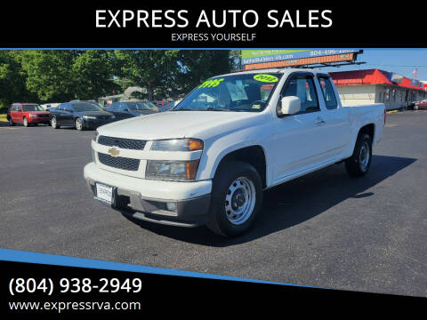 2012 Chevrolet Colorado for sale at EXPRESS AUTO SALES in Midlothian VA