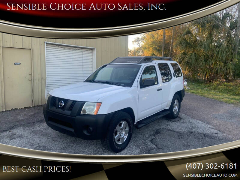 2007 Nissan Xterra for sale at Sensible Choice Auto Sales, Inc. in Longwood FL