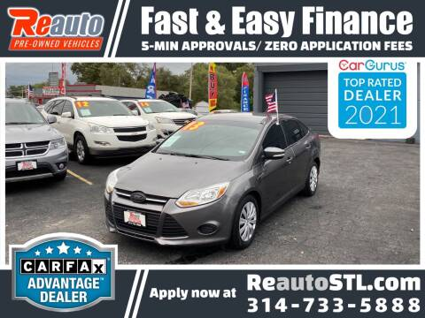 2013 Ford Focus for sale at Reauto in Saint Louis MO