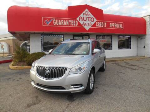 2015 Buick Enclave for sale at Oak Park Auto Sales in Oak Park MI