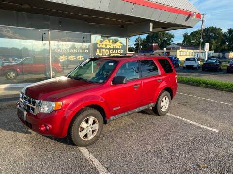 2008 Ford Escape for sale at Carz Unlimited in Richmond VA