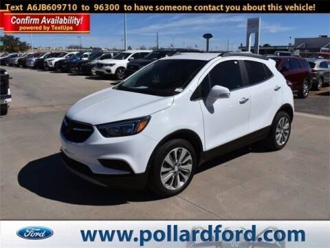 2018 Buick Encore for sale at South Plains Autoplex by RANDY BUCHANAN in Lubbock TX