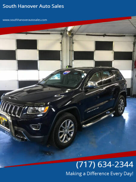 2014 Jeep Grand Cherokee for sale at South Hanover Auto Sales in Hanover PA