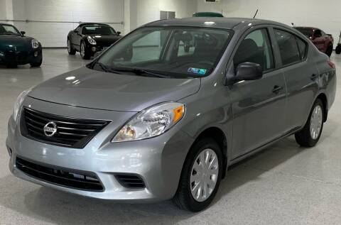 2013 Nissan Versa for sale at Hamilton Automotive in North Huntingdon PA
