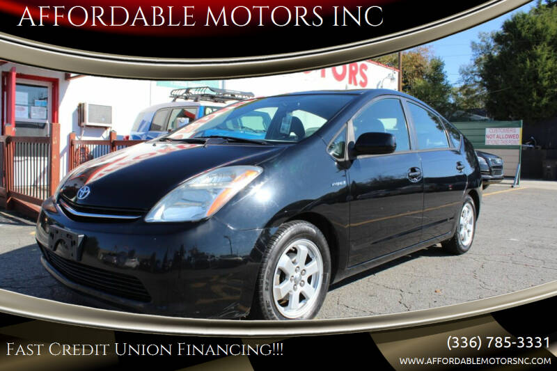 2006 Toyota Prius for sale at AFFORDABLE MOTORS INC in Winston Salem NC