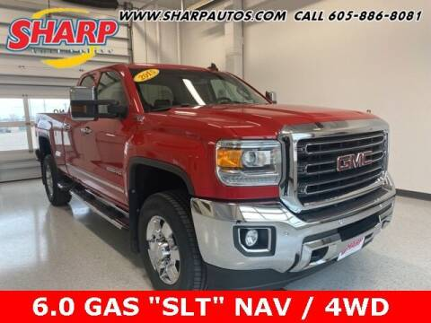 2015 GMC Sierra 2500HD for sale at Sharp Automotive in Watertown SD