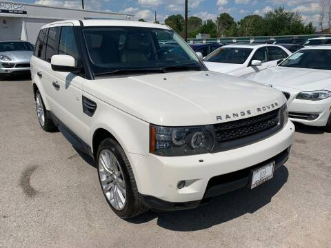 2010 Land Rover Range Rover Sport for sale at KAYALAR MOTORS in Houston TX