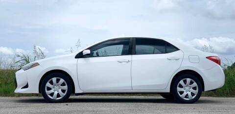 2018 Toyota Corolla for sale at Palmer Auto Sales in Rosenberg TX
