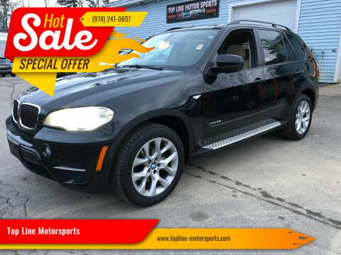 2013 BMW X5 for sale at Top Line Motorsports in Derry NH