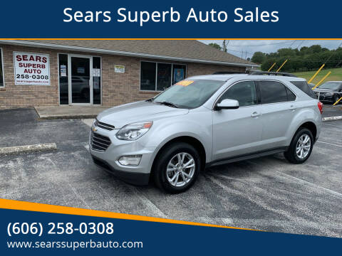 2017 Chevrolet Equinox for sale at Sears Superb Auto Sales in Corbin KY