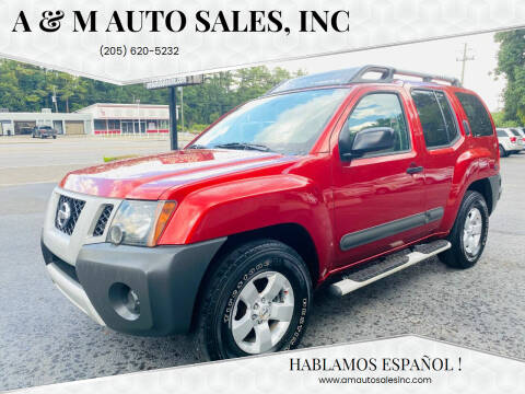 2011 Nissan Xterra for sale at A & M Auto Sales, Inc in Alabaster AL