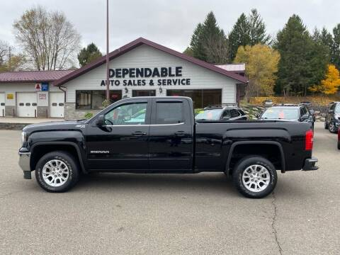 2016 GMC Sierra 1500 for sale at Dependable Auto Sales and Service in Binghamton NY