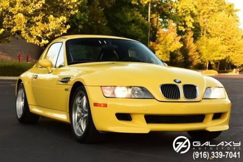 2000 BMW Z3 for sale at Galaxy Autosport in Sacramento CA