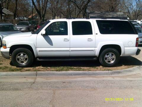 2003 Chevrolet Suburban for sale at D & D Auto Sales in Topeka KS