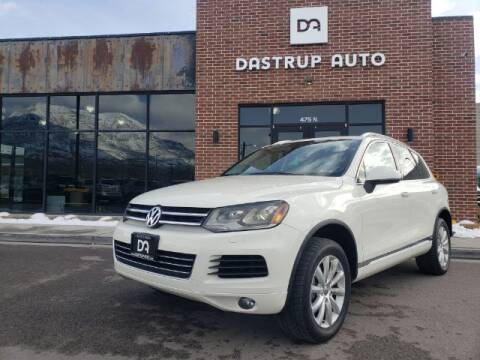 2011 Volkswagen Touareg for sale at Dastrup Auto in Lindon UT