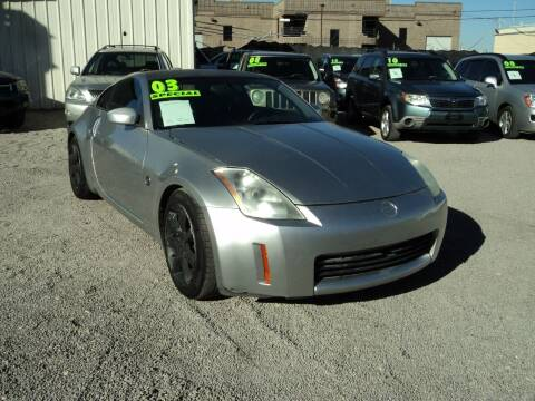 2003 Nissan 350Z for sale at DESERT AUTO TRADER in Las Vegas NV