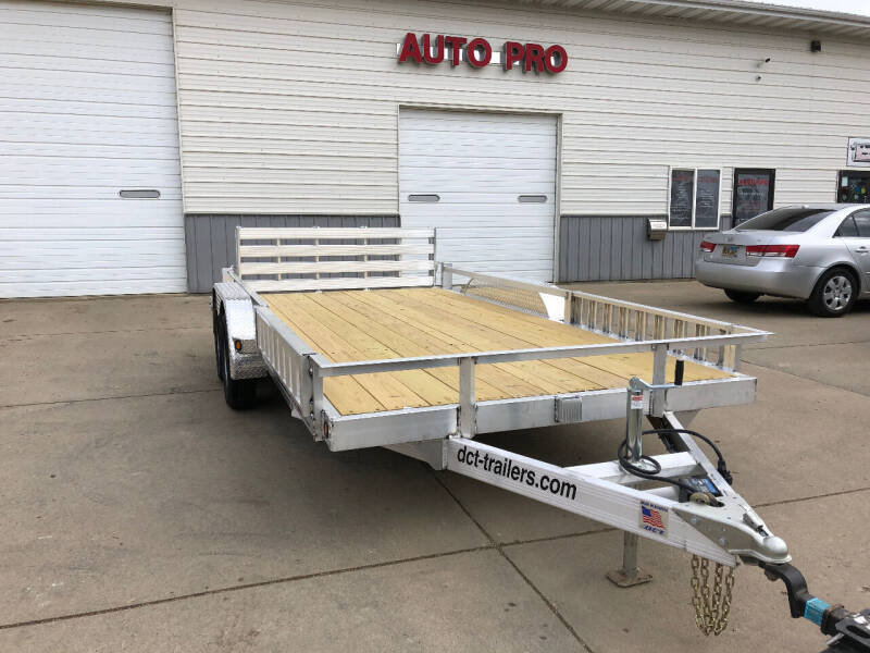 2021 ALUMINUM ATV DCT 83X14 ATV TA for sale at AUTO PRO in Brookings SD