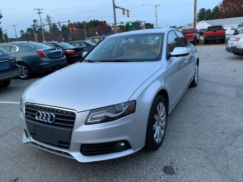 2010 Audi A4 for sale at Official Auto Sales in Plaistow NH