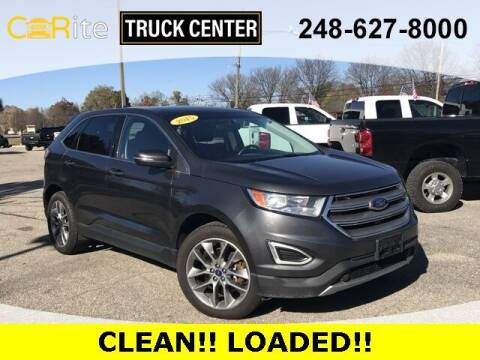 2015 Ford Edge for sale at Carite Truck Center in Ortonville MI