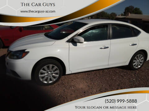 2016 Nissan Sentra for sale at The Car Guys in Tucson AZ