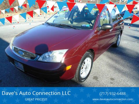 2007 Ford Focus for sale at Dave's Auto Connection LLC in Etters PA