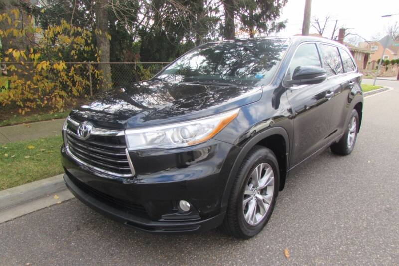 2016 Toyota Highlander for sale at First Choice Automobile in Uniondale NY