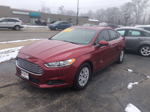 2014 Ford Fusion for sale at Smart Buy Auto in Bradley IL