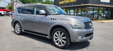 2014 Infiniti QX80 for sale at South Point Auto Plaza, Inc. in Albany NY