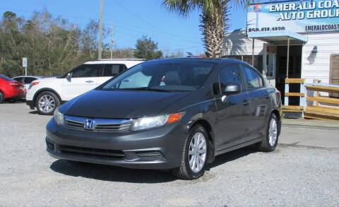 2012 Honda Civic for sale at Emerald Coast Auto Group LLC in Pensacola FL