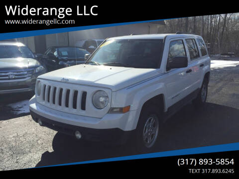 2012 Jeep Patriot for sale at Widerange LLC in Greenwood IN