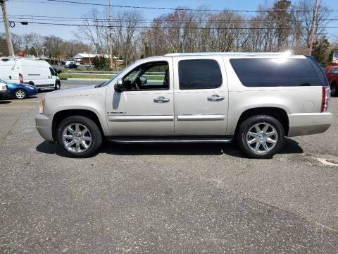 2008 GMC Yukon XL for sale at CANDOR INC in Toms River NJ