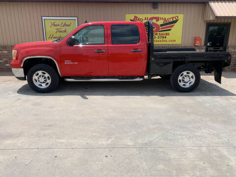 2010 GMC Sierra 2500HD for sale at BIG 'S' AUTO & TRACTOR SALES in Blanchard OK