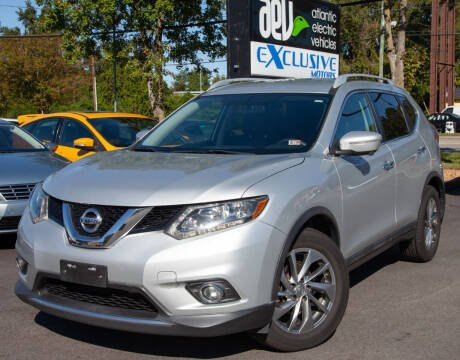 2015 Nissan Rogue for sale at EXCLUSIVE MOTORS in Virginia Beach VA