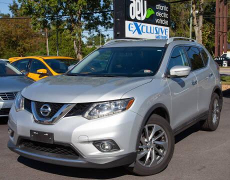 2015 Nissan Rogue for sale at EXCLUSIVE MOTORS in Virginia Beach VA