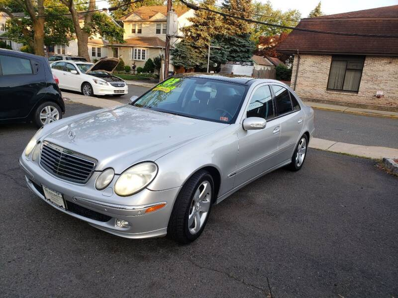 2003 Mercedes-Benz E-Class for sale at DNS Automotive Inc. in Bergenfield NJ
