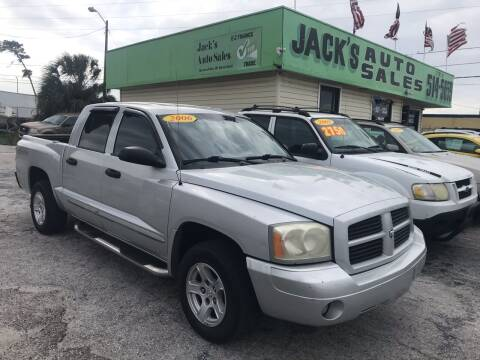 2006 Dodge Dakota for sale at Jack's Auto Sales in Port Richey FL