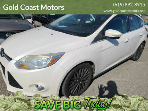 2012 Ford Focus for sale at Gold Coast Motors in Lemon Grove CA