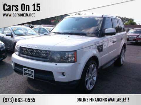 2010 Land Rover Range Rover Sport for sale at Cars On 15 in Lake Hopatcong NJ