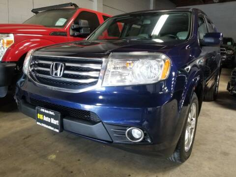 2015 Honda Pilot for sale at 916 Auto Mart ONLY $399 DOWN!!!* in Sacramento CA