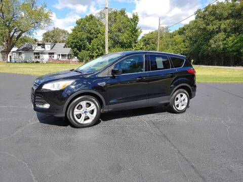 2016 Ford Escape for sale at Depue Auto Sales Inc in Paw Paw MI