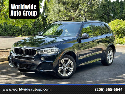 2015 BMW X5 for sale at Worldwide Auto Group in Auburn WA