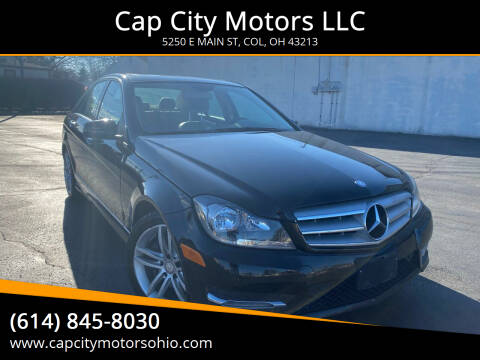 2013 Mercedes-Benz C-Class for sale at Cap City Motors LLC in Columbus OH