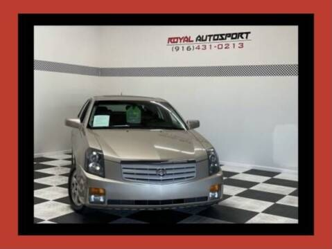 2006 Cadillac CTS for sale at Royal AutoSport in Sacramento CA