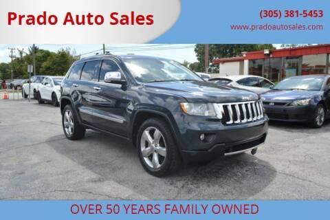 2012 Jeep Grand Cherokee for sale at Prado Auto Sales in Miami FL