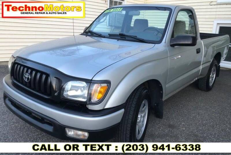 2003 Toyota Tacoma for sale at Techno Motors in Danbury CT
