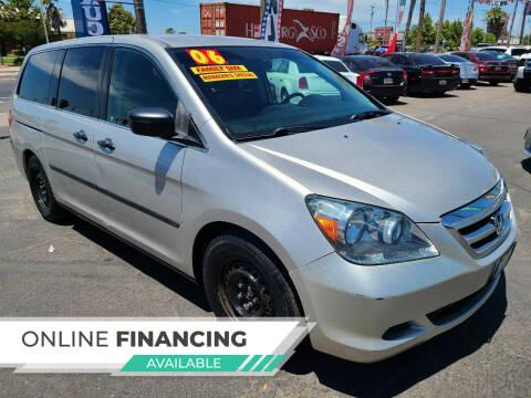 2006 Honda Odyssey for sale at Super Cars Sales Inc #1 - Super Auto Sales Inc #2 in Modesto CA