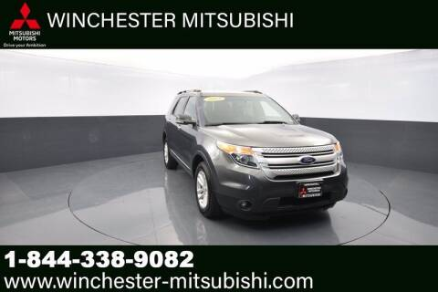 2015 Ford Explorer for sale at Winchester Mitsubishi in Winchester VA